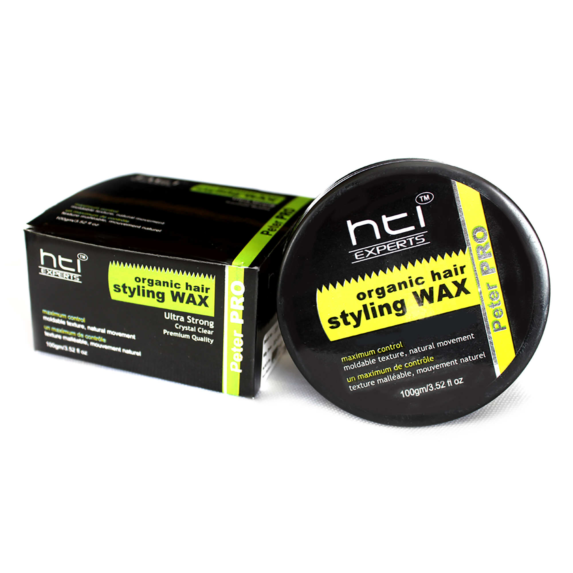 wax for hair styling organic hair styling wax ultra strong hti experts 2080